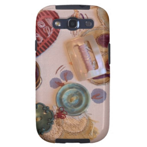 Hand Printed And Sewn Design Samsung Galaxy SIII Case