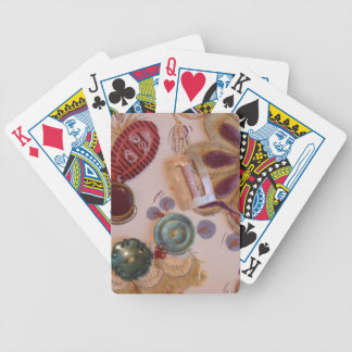 Hand Printed And Sewn Design Poker Deck