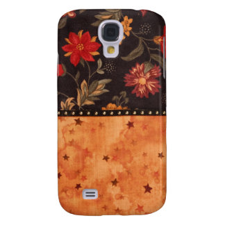 Hand sewn fabric,image Samsung S4 cover