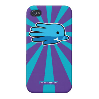 Hand Shaped Baby Narwhal Case For iPhone 4