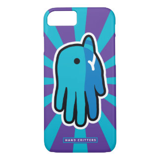 Hand Shaped Baby Narwhal iPhone 7 Case