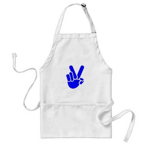 Hand show of hands victory hand sign victory aprons
