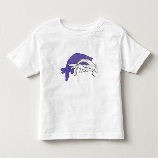 Hand Silhouette Anteater Purple T Shirt