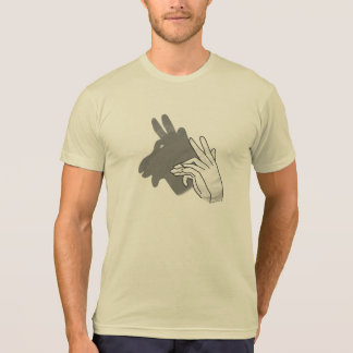 Hand Silhouette Billy Goat Gray T-Shirt