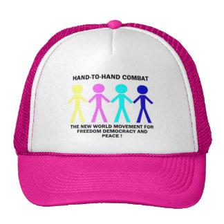 HAND-T0-HAND COMBAT... TRUCKER HAT