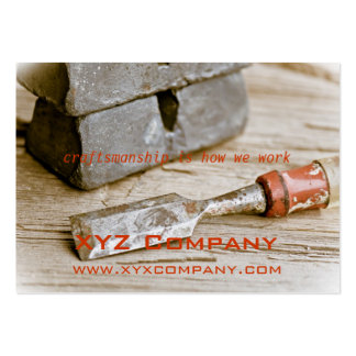 Hand Tools Business Card Template