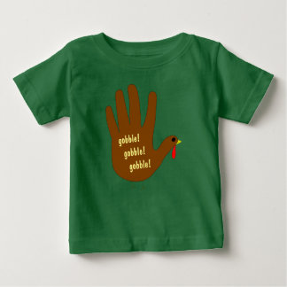Hand Turkey Baby T-Shirt