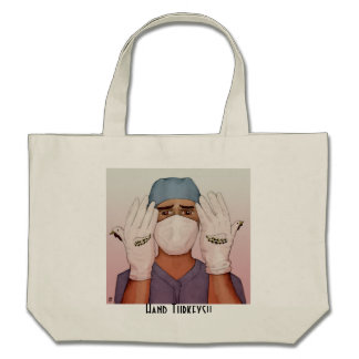 Hand Turkey Tote Bage- the Surgeon Bags