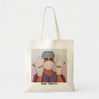 Hand Turkey Tote Bage- the Surgeon Budget Tote Bag