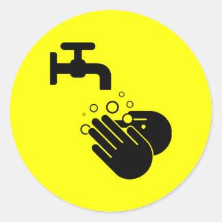 Hand Wash sticker