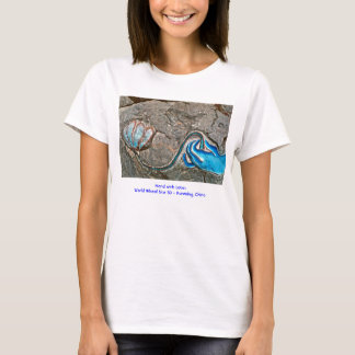 Hand with Lotus/T-Shirt T-Shirt