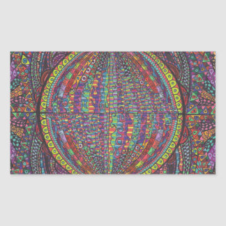 Hand Woven Design Sticker