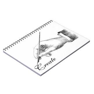 Hand Writing Notebook