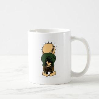 Handalla Classic White Coffee Mug