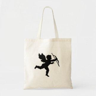 Handbag Cupid Black Plain Budget Tote Bag