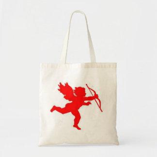 Handbag Cupid Red Plain Canvas Bags
