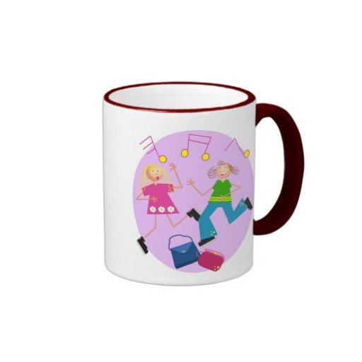 Handbag Dancing Ringer Coffee Mug