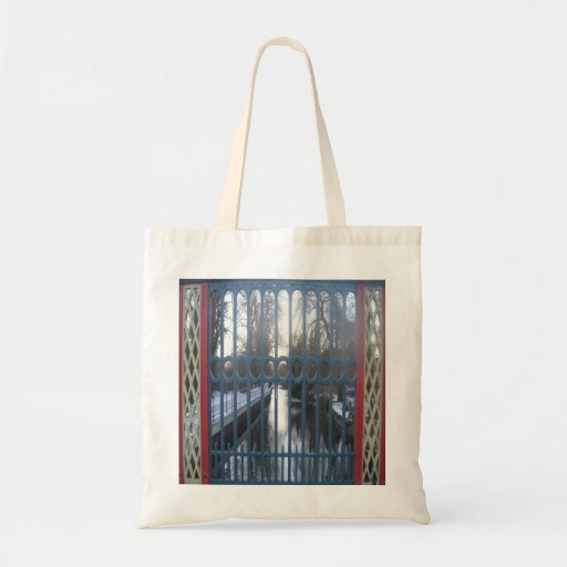 Handbag Gated River View Thetford UK Budget Tote Bag