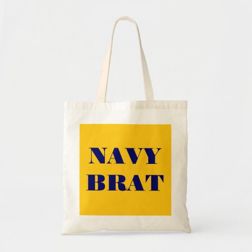 Handbag Navy Brat Tote Bags