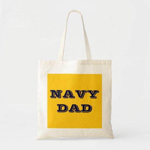 Handbag Navy Dad Canvas Bags