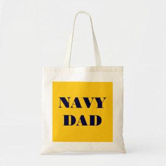 Handbag Navy Dad Budget Tote Bag