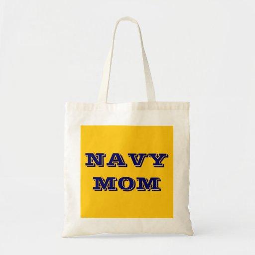 Handbag Navy Mom Canvas Bags