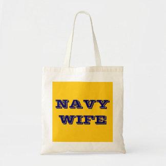 Handbag Navy Wife Bag