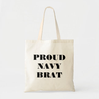 Handbag Proud Navy Brat Canvas Bags