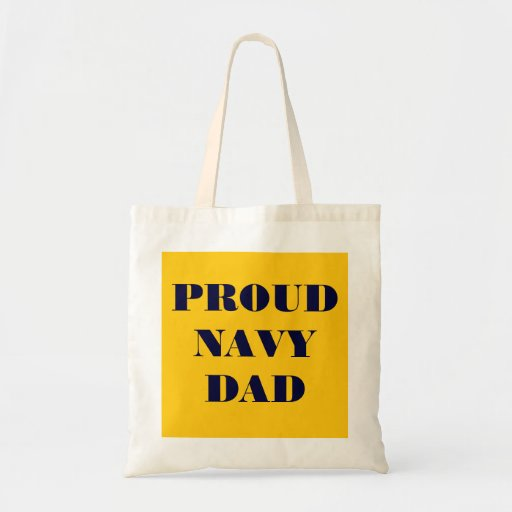 Handbag Proud Navy Dad Bags