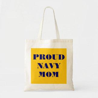 Handbag Proud Navy Mom Budget Tote Bag
