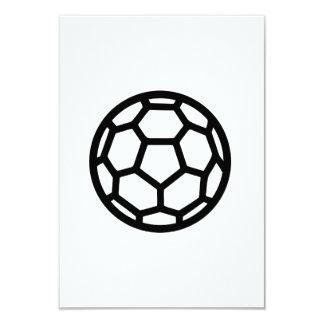 """Handball ball 3.5"""" x 5"""" invitation card"""