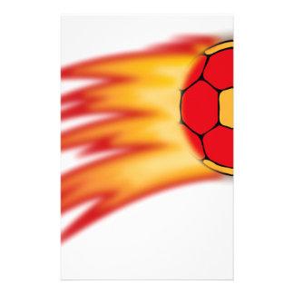 handball comet customized stationery