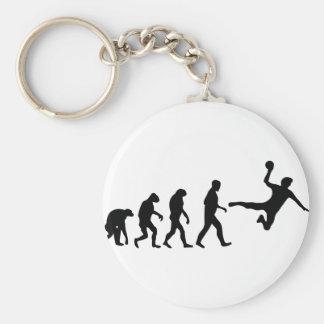 handball evolution basic round button key ring