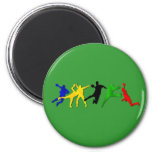 Handball fans and players summer games magnet