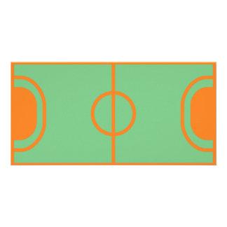 handball field icon picture card