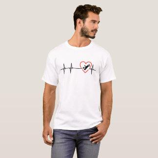 Handball heartbeat design T-Shirt