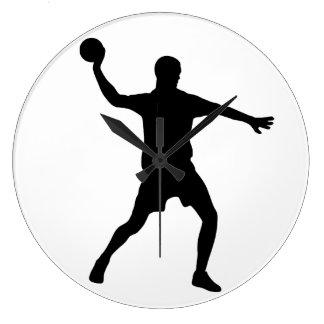 Handball Large Clock