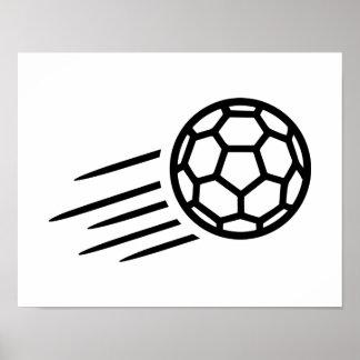 Handball logo poster