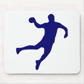 Handball Silhouette Mouse Mat