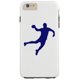 Handball Silhouette Tough iPhone 6 Plus Case