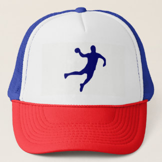 Handball Silhouette Trucker Hat