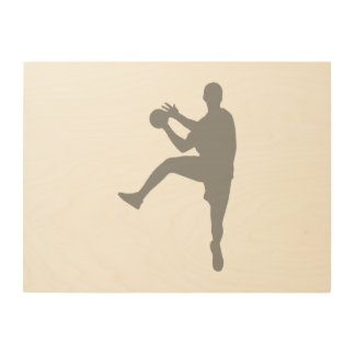 Handball Wood Wall Decor