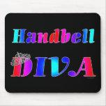 Handbell Diva Mouse Pad