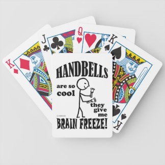 Handbells, Brain Freeze Bicycle Playing Cards