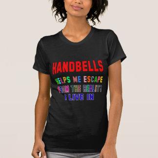 Handbells Helps Me T-shirts