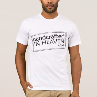 Handcrafted in Heaven Christian t-shirt