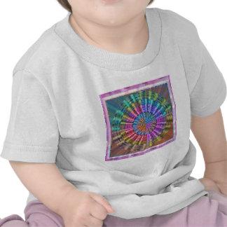 Handcrafted Native Folkart Basket Weave Pattern T Shirt