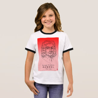 Handel: Face the Music Ringer T-Shirt