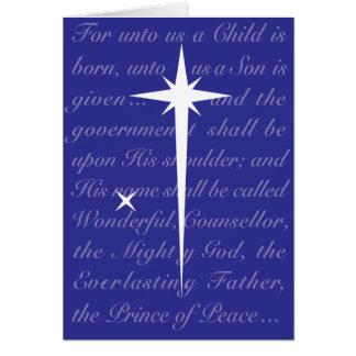Handel's Messiah Greeting Card