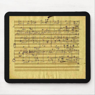 "Handel's ""Messiah"" in Beethoven's hand Mouse Mat"
